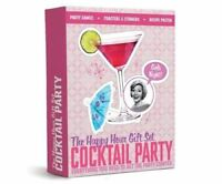 GIRLS NIGHT OUT COCKTAIL PARTY GAMES POSTER POURER STRAWS HAPPY HOUR GIFT SET