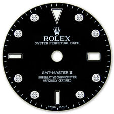 REFINED GMT MASTER II SS BLACK DIAMOND DIAL FOR ROLEX-40
