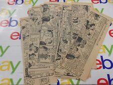 The Oregonian- March 1945- Lot Of 27 Comic Strips- Li'l Abner - B & W