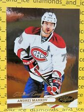 2012-13 PANINI Certified NHL Hockey, ANDREI MARKOV, Card #79, MONTREAL CANADIENS