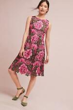 $178 nwt ANTHROPOLOGIE ERI + ARI sz 14 LALIA LACE pink green floral sheath dress