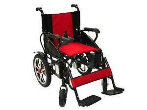 Foldable Power Wheelchair Lightweight Heavy Duty Electric Wheelchair Motorized