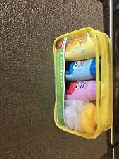 Sesame Street 5 piece baby bath kit Wash Shampoo Lotion Toys Brand New Sealed