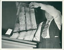 1939 Old Documents in Cellulose, National Archives Original News Service Photo