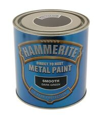 Direct To Rust Metal Paint - Smooth Green - 250ml 5084889 HAMMERITE