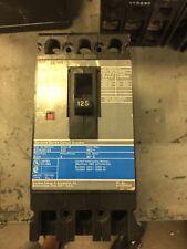 SIEMENS CIRCUIT BREAKER 125 AMP 480V 3 POLE ED43B125