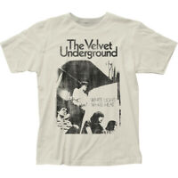 "Velvet Underground ""White Light/White Heat"" Jersey T-Shirt - S - 2X"