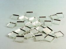 150 pcs of 10x10mm silver mirror glass mosaic tiles for disco ball or craft