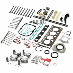 Engine Overhaul Rebuild Valves Kit For VW Audi Skoda 1.8 TSI BZB CDA CDH Ø21mm