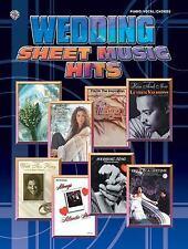 Wedding Sheet Music Hits Piano/Vocal/Chords, , Hal Leonard Corp., Very Good, 200