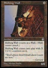1x Shifting Wall Stronghold MtG Magic Artifact Uncommon 1 x1 Card Cards