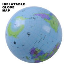 16inch Inflatable Globe Earth Teaching Geography Map Balloon Beach Ball Kids Toy