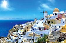 1000 Piece Adult Puzzle Santorini Island Aegean Sea Jigsaw Educational Toys Gift