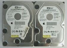 "LOT of 2 Western Digital WD5000AAKS-41YGA1 500GB SATA 3Gbps 16MB 3.5"" HDD 58-3"