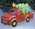 33In Cute Light-Up Truck with tree Holiday Christmas Indoor Outdoor Yard Decor
