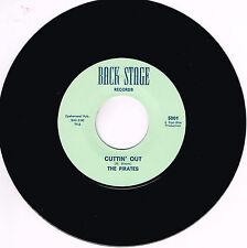 THE PIRATES - CUTTIN' OUT / NAUGHTY GIRL (USA Garage Rockabilly JIVER) Repro