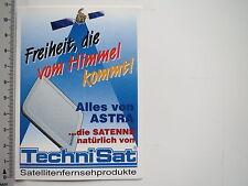 Aufkleber Sticker Technisat - Astra (7246)