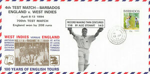 (89997) CLEARANCE Barbados Cover Test Match England v West Indies 1994