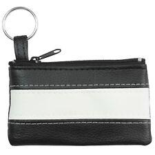 Schlüsselmäppchen schwarz türkis Minibörse Schlüsseltasche Schlüsseletui OPS903S