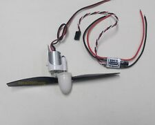 """k064K- 1 set Brushed Motor ,6.25"""" Prop. and 15A ESC ,FW:200g for DIY Airplane"""