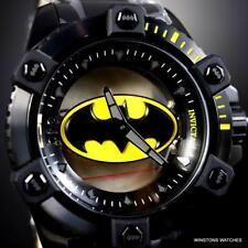 Invicta DC Comics Batman Octane Ghost Steel Mechanical 48mm Limited Watch New