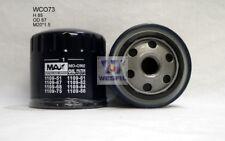WESFIL OIL FILTER FOR Peugeot 607 3.0L V6 2002-2008 WCO73