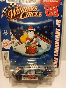 #88 DALE EARNHARDT JR. SAM BASS CHEVY WINNERS CIRCLE Holiday Hood Ornament 2008