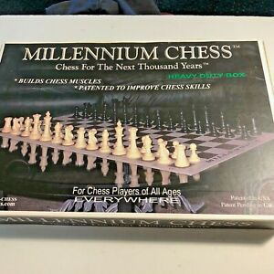 GB83 Millennium Chess For The Next Thousand Years Double Chess Board Game