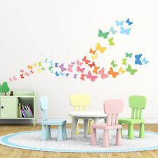Decowall Butterflies Nursery Kids Removable Wall Stickers Decal DW-1613