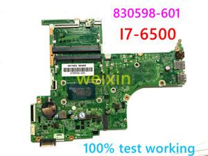 NEW HP 15-AB  Motherboard  i7-6500U  830598-601/501/001 DAX1BDMB6F0 REV:F DDR4