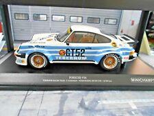 PORSCHE 911 934 DRM 1976 GT #52 Gelo Loos Schenken Tebernum Minichamps 1:18