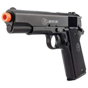 CYBERGUN Colt M1911 A1 Spring Airsoft Pistol with Metal Slide by KWC 18117