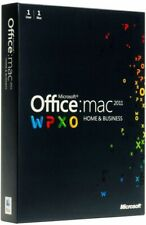 Microsoft Office for MAC Home and Business 2011 (1 User) #New