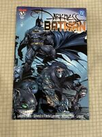 THE DARKNESS/BATMAN #1 - FIRST PRINT GRAPHIC NOVEL TPB - 1999  NEW