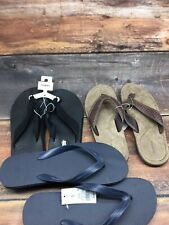 Mens Shoes Sandals GOODFELLOW Flip Flop Beige Size XL 13-14 Log Of 3 New