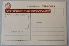 Mayfairstamps Indonesia Kartupos Mint Stationery Card wwf4135