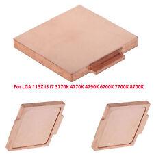 Rose Gold IHS CPU Copper Cover For LGA 115X i5 i7 3770K 4770K 4790K 6700K 7700K