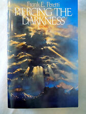 Piercing the Darkness by Frank E. Peretti (2003, Paperback) Like NEW