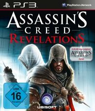 Ps3 juego-Assassin 's Creed: Revelations + Assassin's Creed 1 alemán con embalaje original