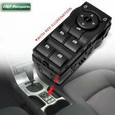 Red Illumination Master Window Switch for Holden Commodore VE 16 Pins 2006-2013