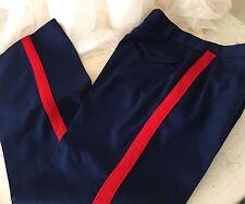 "USMC DSCP Dress Blues Pants Trousers Bloodstripe Sz 40 L ( waist 38 Inseam 31"" )"