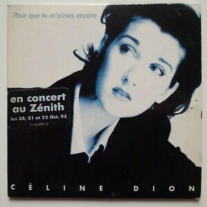 CELINE DION : POUR QUE TU M'AIMES ENCORE (JEAN JACQUES GOLDMAN) - [ CD SINGLE ]