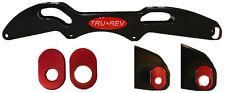 TruRev Switch Blade Inline Speed Skate Frame 195mm spacing.