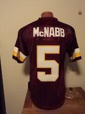 Reebok NFL Washington Redskins Donovan McNabb Mens Sewn Football Jersey NWT S