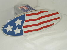 hitch cover,us flag ovl,expedition,chevy, ford,H2,CHEV