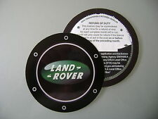 Magnetic Tax disc holder fits land range rover freelander discovery defender tdi