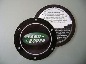 Magnetic Tax disc holder fits land range rover freelander discovery defender tdi