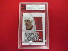 2008 ITG Ultimate Memorabilia Chris Chelios game used gloves are off   #ed 7 /24