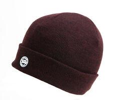 Fox Chunk Beanie Burgundy Black Marl cpr761 gorra sombrero invierno ha Beanie