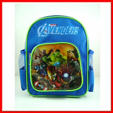 Super Hero Avengers Hulk Captain America Mini School Backpack Book Bag + Wallet